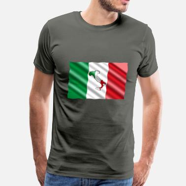 Sicily Sicily Flag - Men's Premium T-Shirt