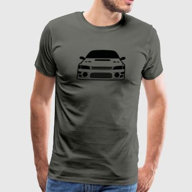 JDM Car eyes GC8 | T-shirts JDM - Men's Premium T-Shirt
