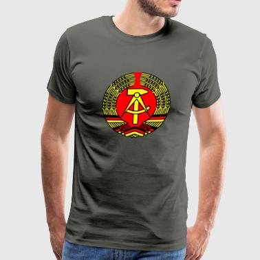 Ddr Berlin Crest Ddr Eass Germany - Men's Premium T-Shirt