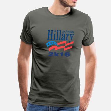 Fernandez Hillary For President 201 - Men's Premium T-Shirt
