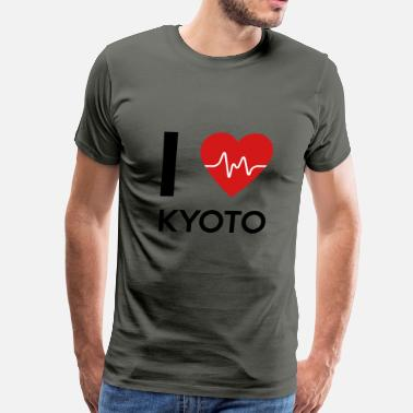 Kyoto I Love Kyoto - Men's Premium T-Shirt