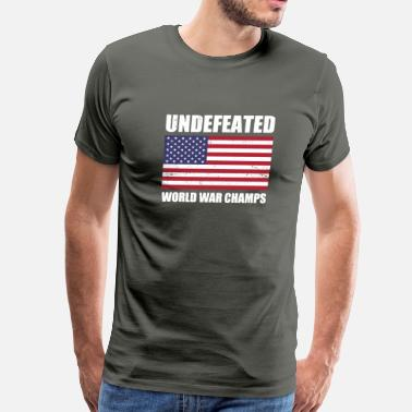 Undefeated Undefeated   - Men's Premium T-Shirt