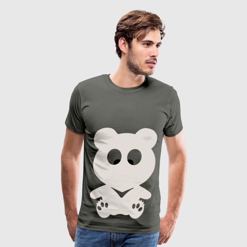 Cross Eyed BEAR - Men's Premium T-Shirt