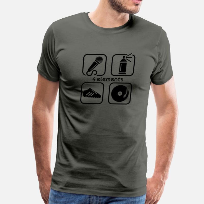 2b877a743 Shop 4 Elements Of Hip Hop T-Shirts online | Spreadshirt