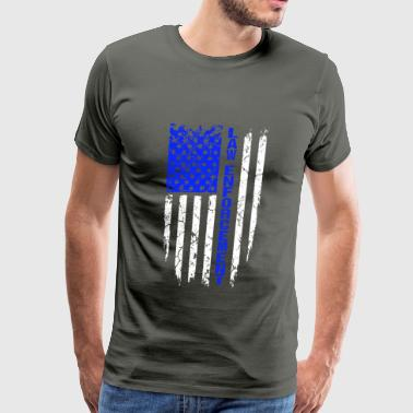 law - law enforcement - Men's Premium T-Shirt