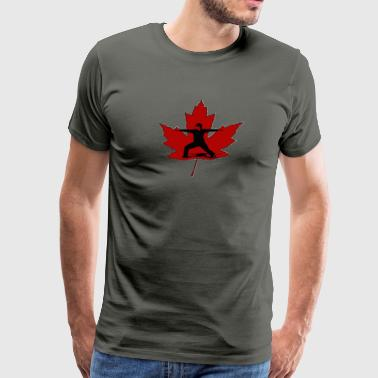 Canadian Warrior - Men's Premium T-Shirt