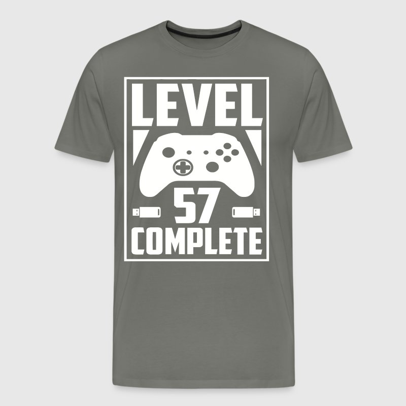 Level 57 Complete - Men's Premium T-Shirt