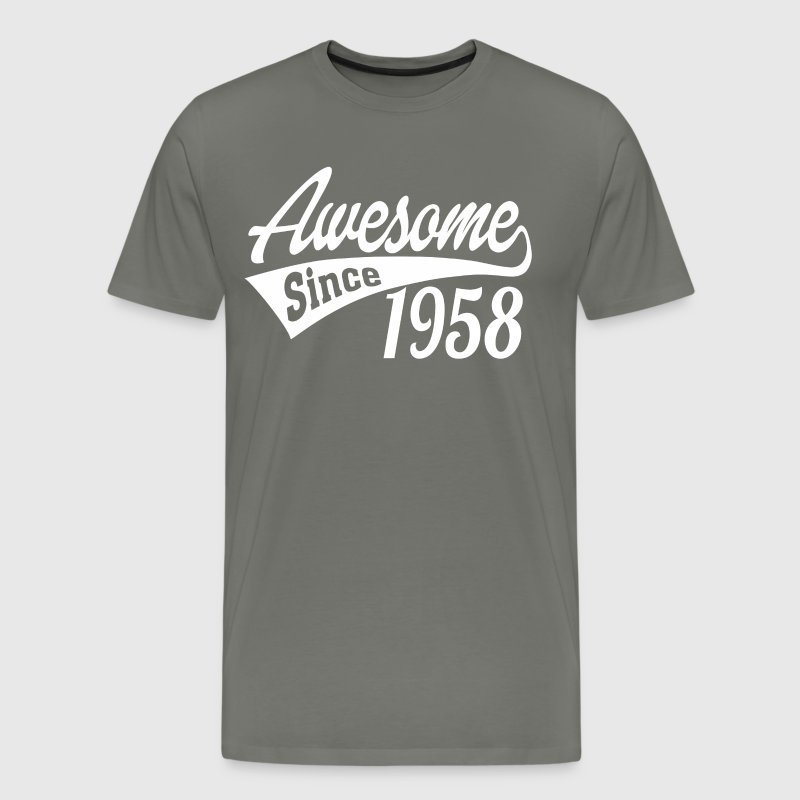Awesome Since 1958 - Men's Premium T-Shirt