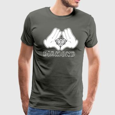 Diamonds Hands - Men's Premium T-Shirt