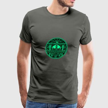 Kiss Land Logo The Weeknd - Men's Premium T-Shirt