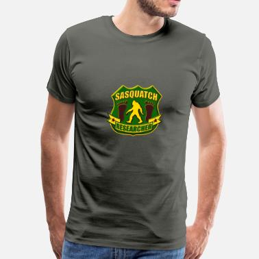 Sasquatch Kids Sasquatch Researcher - Men's Premium T-Shirt