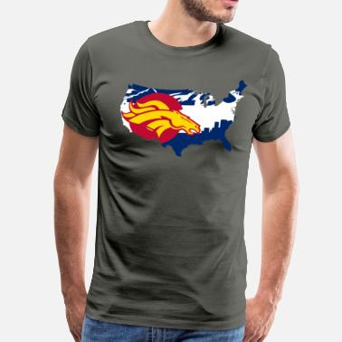 State Of Colorado Colorado State Flag - Men's Premium T-Shirt