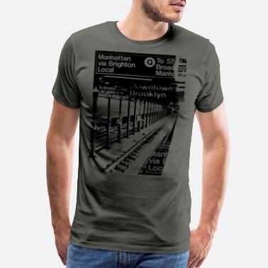 Subway NYC Subway - Men's Premium T-Shirt