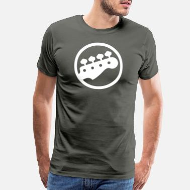 Guitar Player Bass Guitar Player - Men's Premium T-Shirt