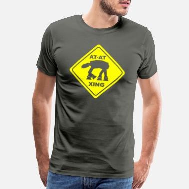 At At Crossing AT-AT CROSSING - Men's Premium T-Shirt