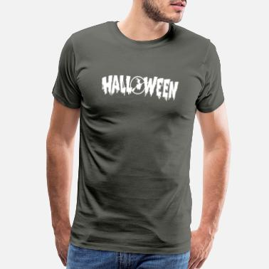 Witch Creepy Halloween Witch Spooky Creepy - Men's Premium T-Shirt