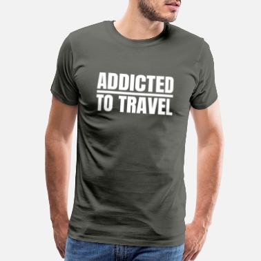 Discovery gift idea enjoy journey - Men's Premium T-Shirt