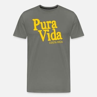 6d17749623647 Pura Vida - Costa Rica Men s Premium Tank Top