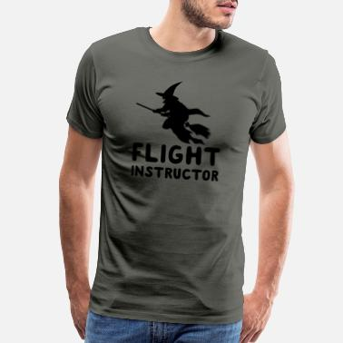 Instructor Flight Instructor - Men's Premium T-Shirt