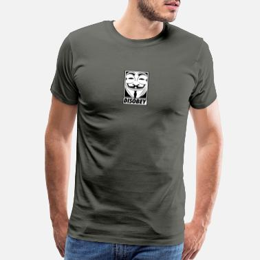 Disobey Disobey - Men's Premium T-Shirt