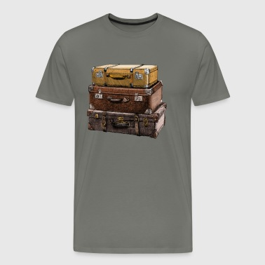 suitcase - Men's Premium T-Shirt