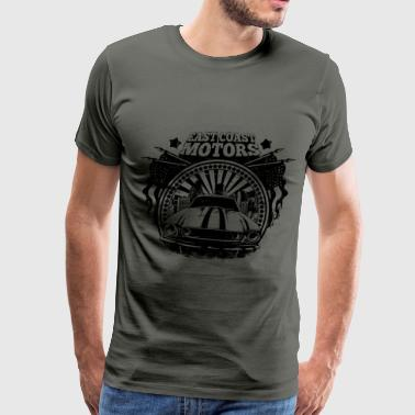 east-coast-motors - Men's Premium T-Shirt