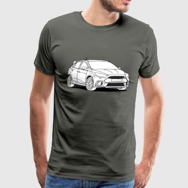 Sporty Hatchback - Men's Premium T-Shirt