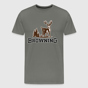 Browning  - Men's Premium T-Shirt
