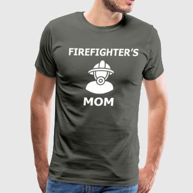 Firefighter's mom, Proud Of Firefighter Mom - Men's Premium T-Shirt