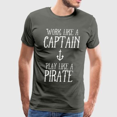 Work Like a Captain - Men's Premium T-Shirt