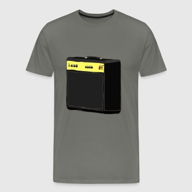 Amplifier Guitar - Men's Premium T-Shirt