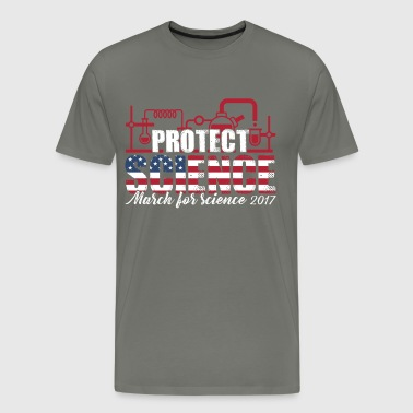 March For Science - Protect Science - Men's Premium T-Shirt