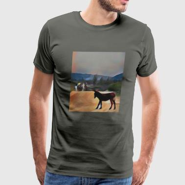 Horseback riding - Men's Premium T-Shirt