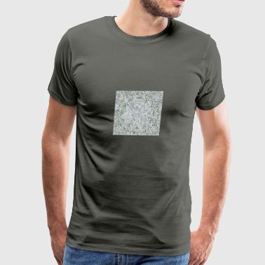 abstract-white digital painting - Men's Premium T-Shirt