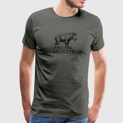 Mountain Goat Hunter - Men's Premium T-Shirt
