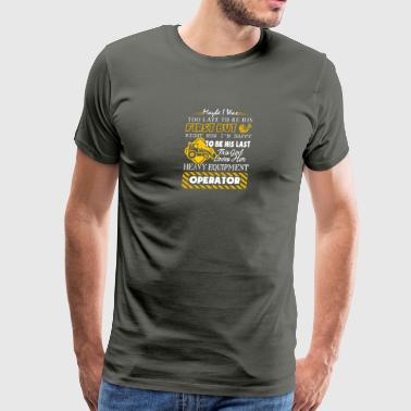 This Girl Love Her Heavy Equipment Operator Shirt - Men's Premium T-Shirt