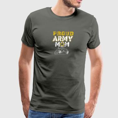 Proud Army Mom Tshirt - Men's Premium T-Shirt
