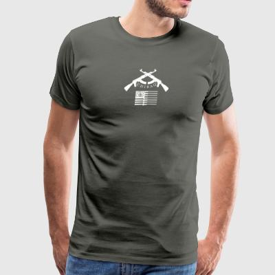 Chicago Chiraq Murder Town Capital - Men's Premium T-Shirt