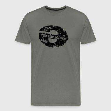 Rok the schwa! - Men's Premium T-Shirt