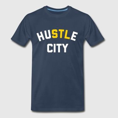Hustle City - Men's Premium T-Shirt