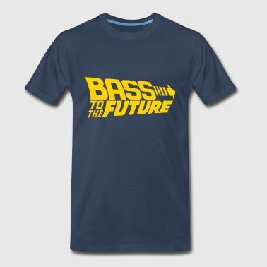 Bass to the Future - Men's Premium T-Shirt