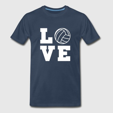 Volleyball Love - Men's Premium T-Shirt
