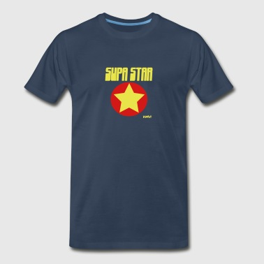 supa star by wam - Men's Premium T-Shirt
