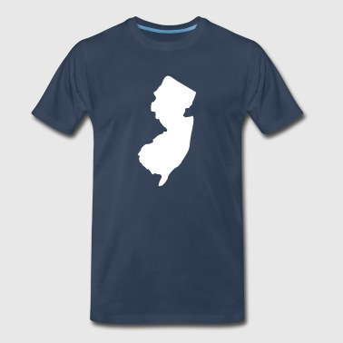 State of New Jersey solid - Men's Premium T-Shirt