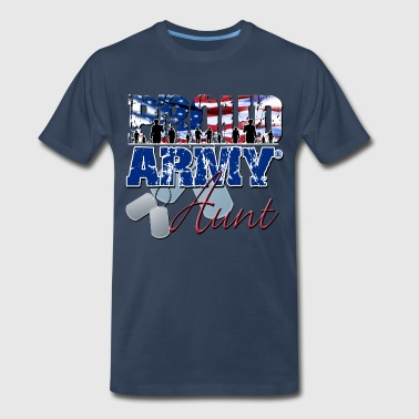 Proud Army Aunt - Men's Premium T-Shirt