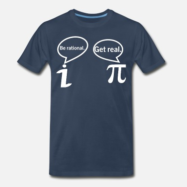 9c27144d8722 Shop Get Real Be Rational T-Shirts online   Spreadshirt