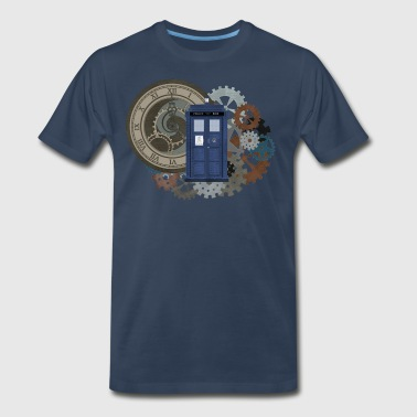 Time Travel 2 - Men's Premium T-Shirt