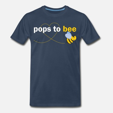 Pops Since 2016 Pops To Bee - Men's Premium T-Shirt