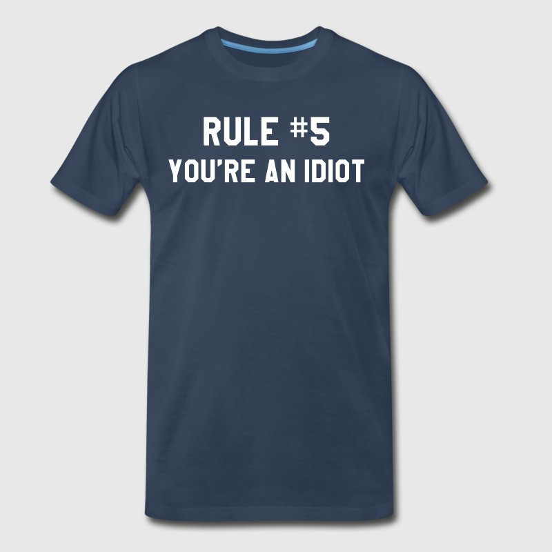 Wedding Crashers - Rule #5 - Men's Premium T-Shirt