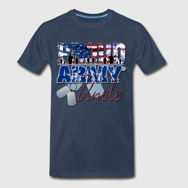 Proud Army Uncle - Men's Premium T-Shirt